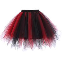 Kate Kasin Tutu Skirt Silps Swing Rockabilly Petticoat Underskirt Crinoline Pettiskirt For Wedding Bridal Retro Vintage