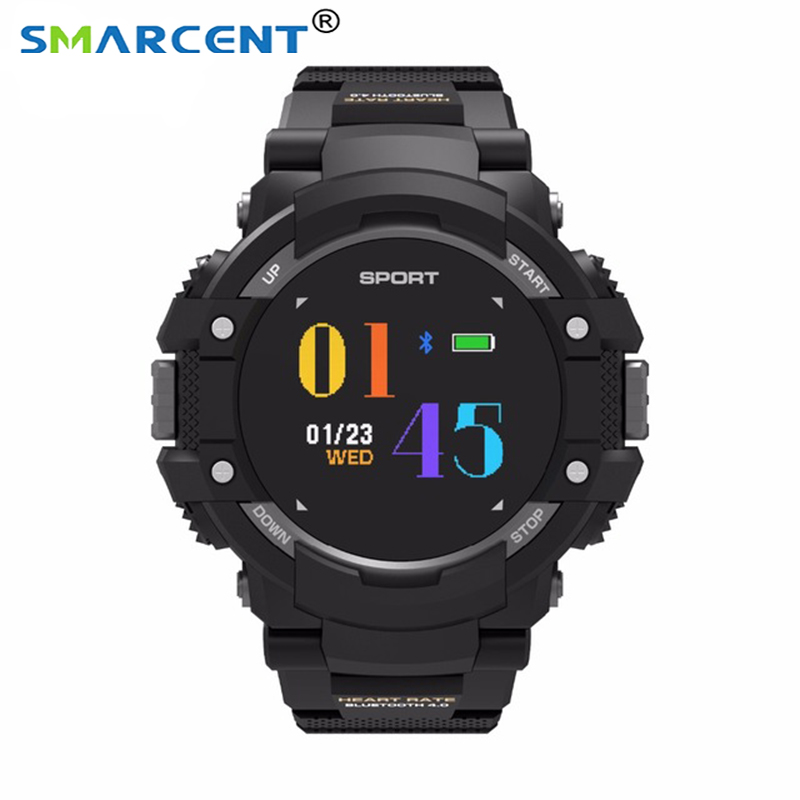 Sport Fashion Smartwatch F7 GPS Smart Watch Man Color LCD Realtime Heart Rate Temperature Monitor Multisport Outdoor