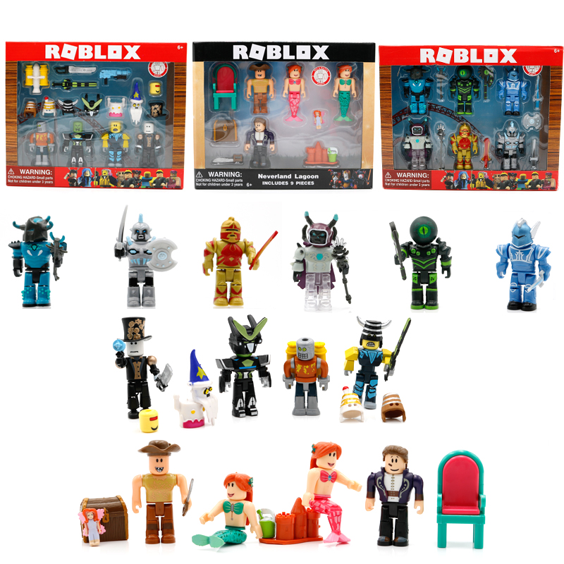 Hot toy figure roblox game PVC bendable figure toys anime roblox action figure toy kids roblox figure set juguetes for children