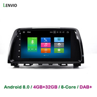 Lenvio 9 RAM4GB 32GB Octa Core Android 8 0 CAR DVD GPS Navigation For Mazda 6