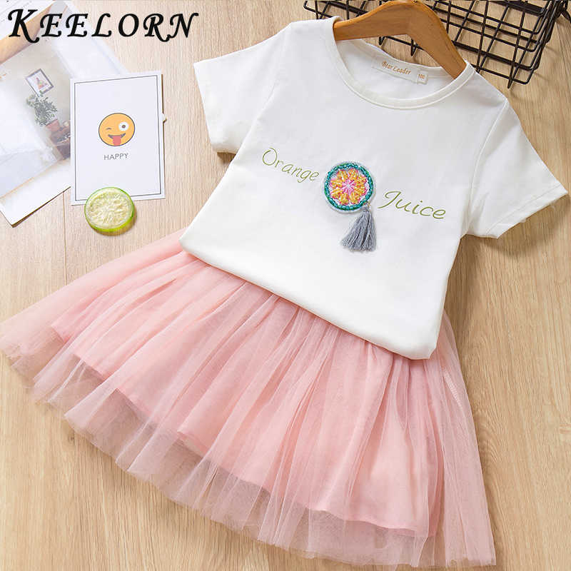 27d181a68c1 ... Keelorn Girls Dress Summer Kids Dresses for Girl Fashion Children  Clothing Designer Baby Girl Clothes Girls