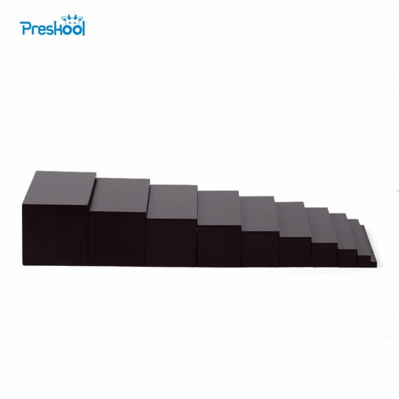 Монтессори профессиональные коричневый Лестницы детские игрушки дошкольного образования детей дошкольного возраста Brinquedos Juguetes