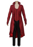 Avengers Age of Ultron Scarlet Witch Wanda Maximoff Cosplay Costume