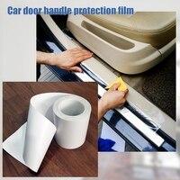 2 размера Защитная пленка для автомобиля прозрачная для дома и улицы аксессуары для дверной ручки боковой двери края Авто защитная пленка