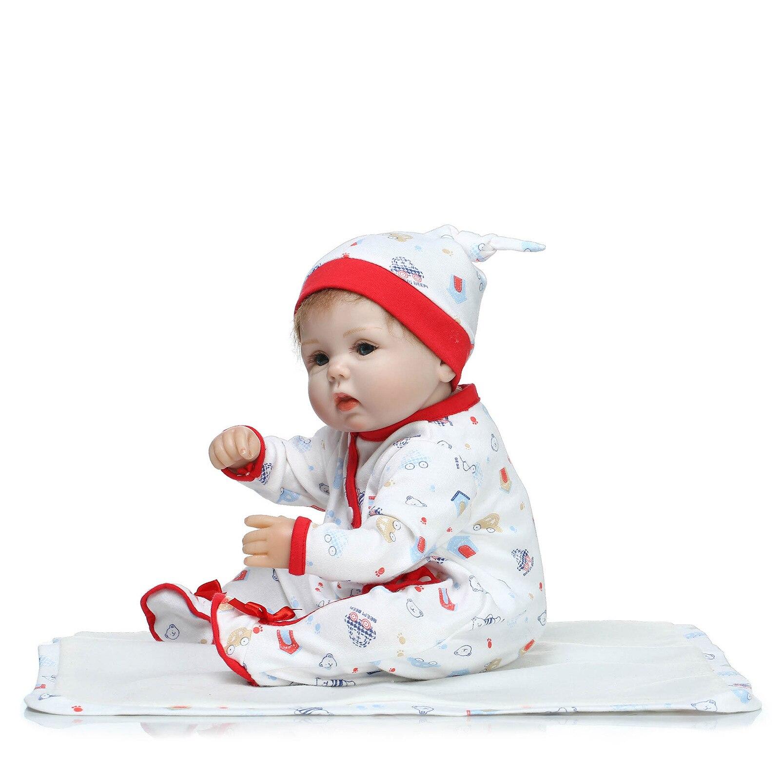 Muñecas de vinilo de silicona suave 40cm bebé renacido hecho a mano - Muñecas y accesorios - foto 3
