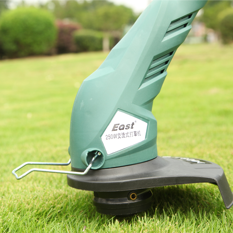 AC Electric Lawn Mower Grass Mowing Machine Small Portable Multi-functional Lawn Machine Garden Weeder Tool Robot Lawn Mower new arrival electric home lawn mower et2803 8000 r min electric weeding machine 18v rechargeable lawn mower cutting machine hot