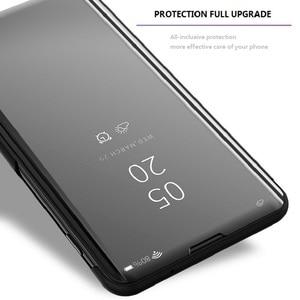 Image 5 - Mirror Flip Smart Case for Redmi K20 Pro 5 Plus 6 6A 4X Note 5A 3 4X 5 6 Pro Y1 Lite S2 Y2 Clear view case for Xiaomi 9T Pro 5C