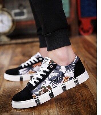 2018 fashion canvas shoes men casual shoes summer
