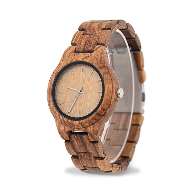Wood Watch Women's Bracelet femme 2019 women watches Houten horloge Watch Styles art Luxury Famous Brand wood watch              1