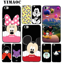 YIMAOC Mickey and minnie Cute Soft Silicone Case for Xiaomi Redmi Note 9 Mi 8 Se 7 6 6A A1 A2 4X 4A 5A 5 MAX 3 MiA1 A2(China)