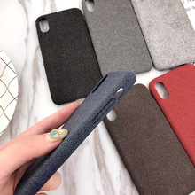 Ultra-thin Felt Cloth Phone Case for IPhone7 6S 8 Plus Velvet Soft Case for IPhone X 6 XS 6S 7 8 XR XS MAX цена и фото