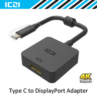 ICZI USB 3 1 Type C To DisplayPort Adapter 4K Black USB C Male To DP