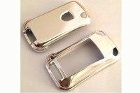 Chrom Płyta Zdalnego Przerzucić Kluczową Skrzynki Skóry Pokrywa Shell Cap Fob ochrona dla Porsche Boxter 987 Cayman Cayenne 911 997 987 Panamera