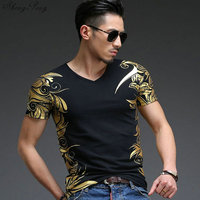 Chinese traditional men clothing Mens floral shirt fashion t shirt men 2018 chinese top chinese clothing store male clothes Q030