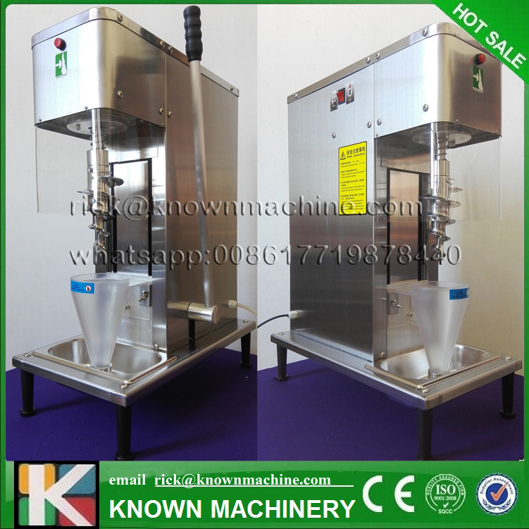 The CE certified 750W 63 kg  frozen yogurt blending machine ice cream mixer shipping by sea CFR price ce iso length unlimited little electric fish cutting machine with remove internal organs function cfr price by sea