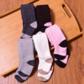 warm stockings for girls winter baby tights boy pantyhose cotton stocking pink panty hose for babies polka dot long girl tights