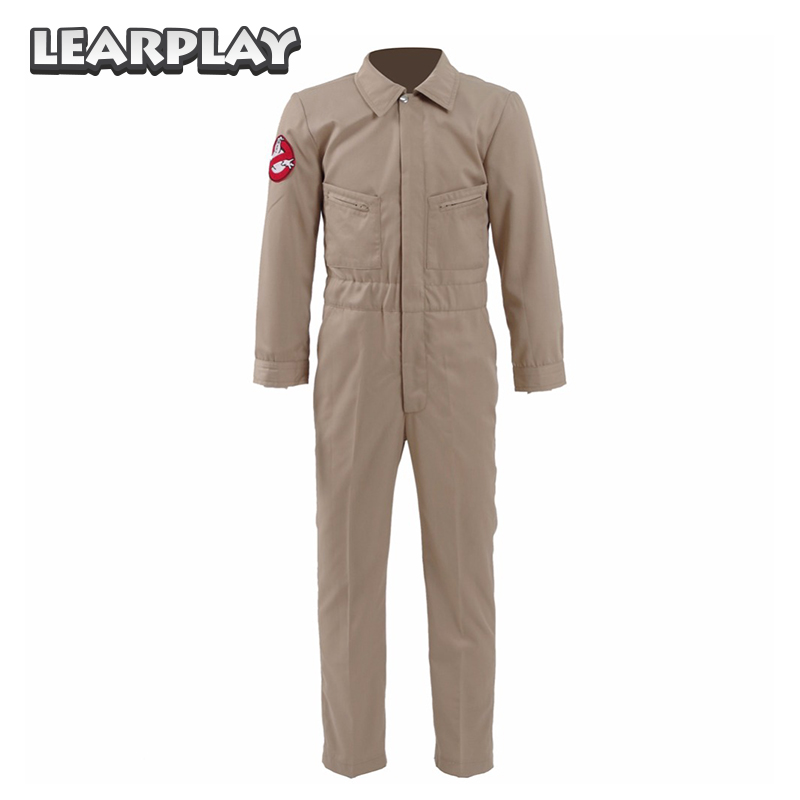 Stranger Things Season 2 Eleven Cosplay Costume Ghostbusters Jumpsuit Halloween Christmas Party Outfit For Kids Boys Adult