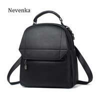 Nevenka Women Brand Backpack Colorful Fashion Bag Lady Fresh Backpacks Softback Strap Shoulder Bag High Quality