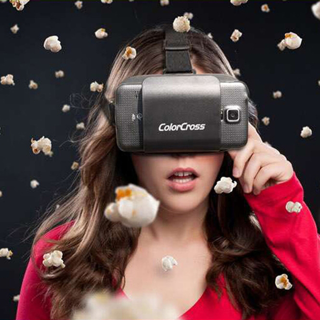 d7f780d41412 Google Cardboard ColorCross II Virtual Reality 3D Glasses Magnet For 4~7