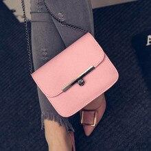 2017 New Women Messenger Bags Designer Brand Women Shoulder Crossbody Bags Ladies Fashion Women Handbag Small Black Chain Bag