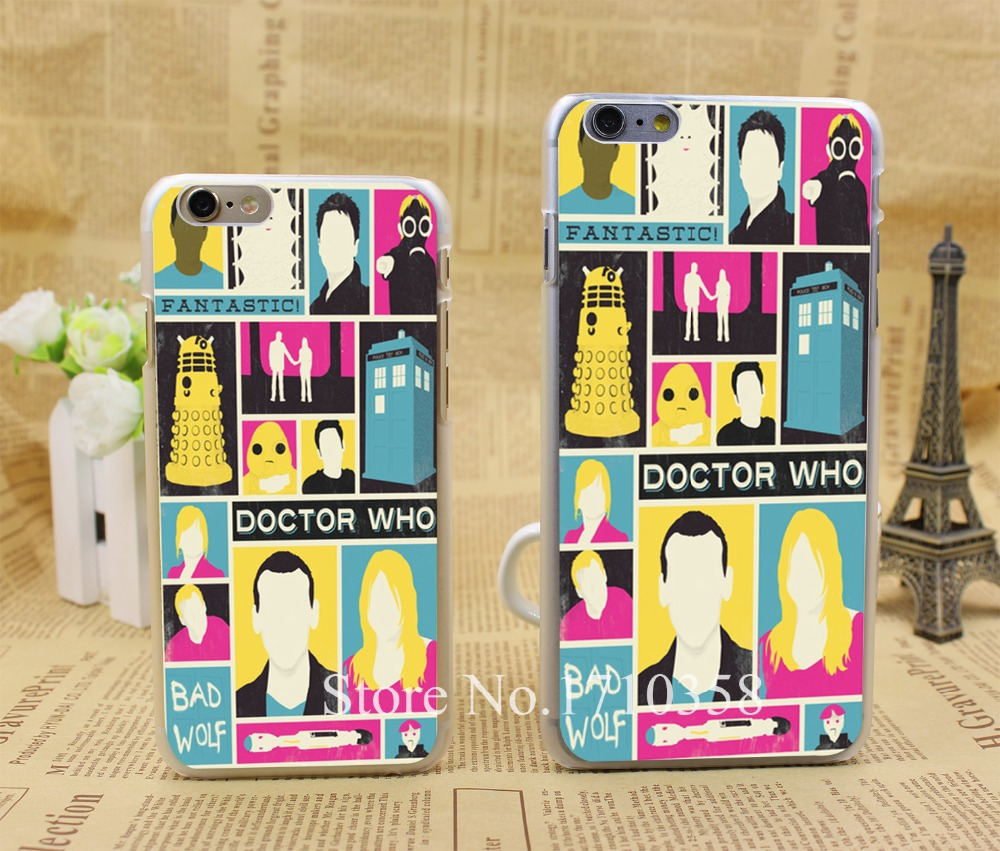 doctor who the ninth d hellip Style Fashion Hard Transparent Clear Back Style Case for iPhone 7 7 Plus 6 6s 6 plus Cover