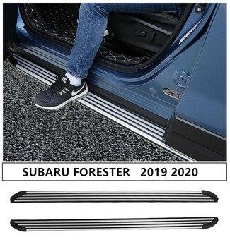 Auto Trittbretter Seite Schritt Bar Pedale Für SUBARU FORESTER 2019 2020 Hohe Qualität Nerf Bars Auto Zubehör