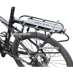 Image 5 - WEST BIKING Bicycle Racks 140 KG Load Luggage Carrier Cargo Aluminum Alloy Rear Rack Cycling Seatpost Bag Holder Stand Bike Rack