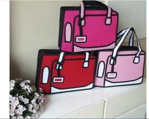 9220767ddd HandBags School Bag 3D Cartoon Lady Shoulder Bag Messenger