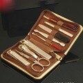 Южная корея 777 кусачки для позолоченная маникюрные ножницы маникюрные ножницы маникюрные новые комплект 9 клещи инструменты маникюрные ножницы для ногтей