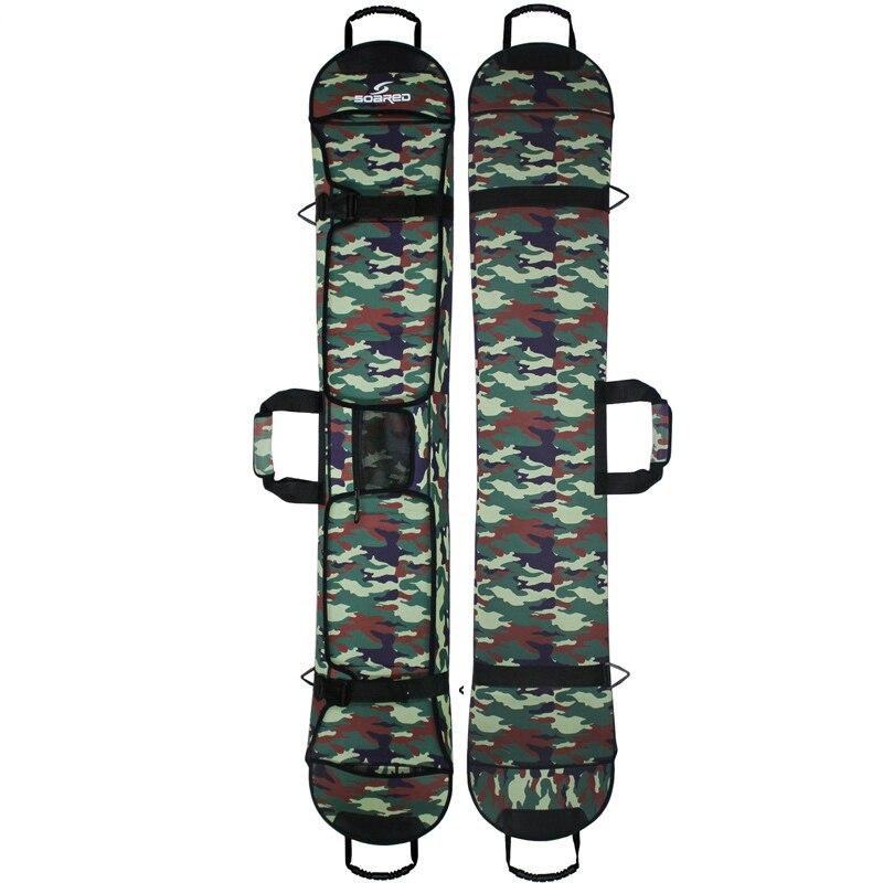 145-155 cm sacs de Snowboard de Ski matériel de tissu de plongée sac de planche de Ski Snowboard résistant aux rayures étui de protection de plaque Monoboard - 3