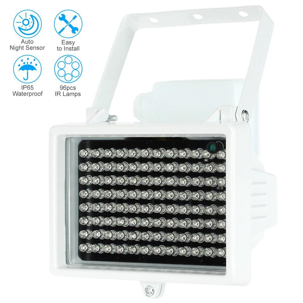 bilder für 60 mt 96 LEDs 12 V 60 mt Nachtsicht Ir-infrarotscheinwerfer Licht-lampe FÜHRTE Hilfs Beleuchtung Wasserdichte Für sicherheit Cctv-kamera