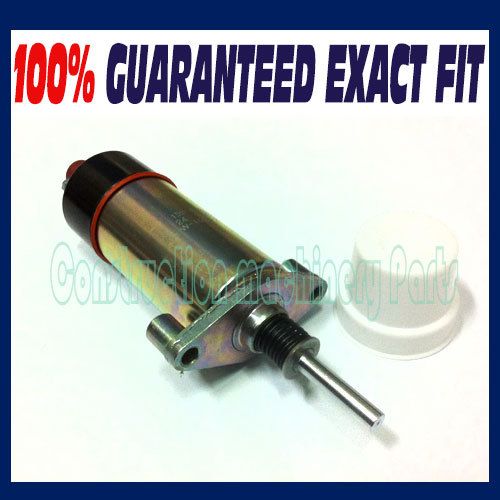 Fast free shipping, Replace Caterpillar CAT Fuel Shutdown Stop Shutdown Solenoid Valve 1554653/155-4653 24V 3924450 2001es 12 fuel shutdown solenoid valve for cummins hitachi