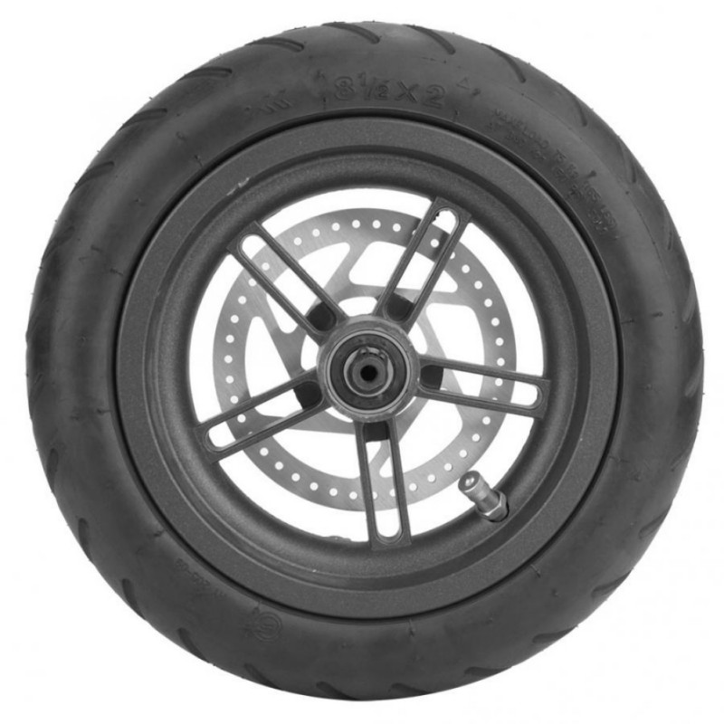 Electric Skateboard Wheels With Brake Disc Scooter Tire Pneumatic Disc Brake Rear Wheel For Xiaomi M365 Electric Scooter