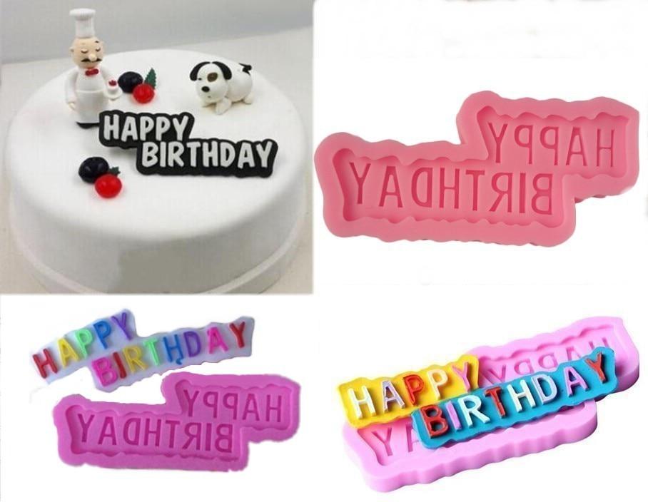 Boldog születésnapot tervezés modellezés torta díszítés - Konyha, étkező és bár - Fénykép 1