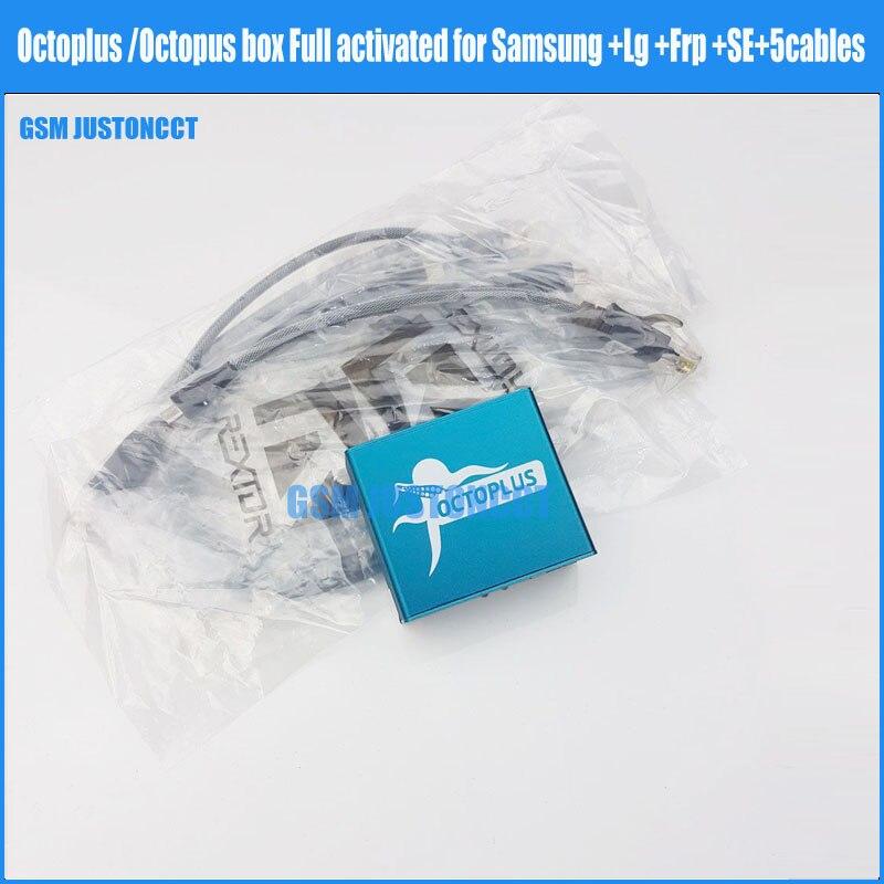 Octoplus/octopus Box + Frp + Se активированный для samsung + Lg + 5 кабелей