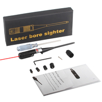 New Tactical Red Dot Laser Bore Sighter Laser Scope 22 50 Five Caliber Rifle Hunting Airsoft