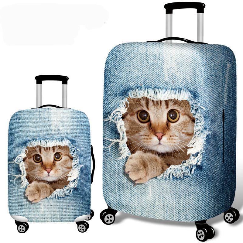 Yesello Hot Fashion Travel On Road Luggage Cover Protective Suitcase Cover Trolley Case Travel Luggage Dust Cover 18 To 32inch