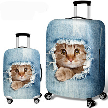 Yesello Hot Fashion Travel on Road Luggage Cover Protective Suitcase Cover Trolley Case Travel Luggage Dust Cover 18 to 32inch rerekaxi travel elastic luggage cover suitcase protective shell trolley case dust cover 22 28 inch travel accessories