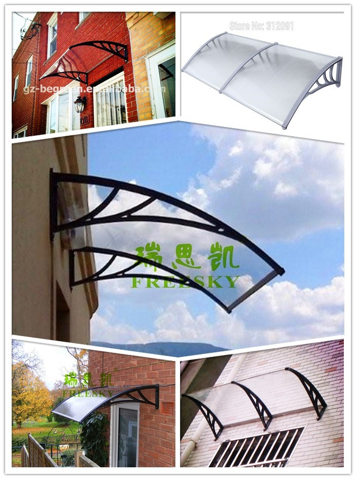 door canopy polycarbonate awning