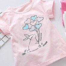Baby Girls Short Sleeve Blouse T shirts Summer