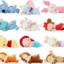 Милый лежащий спящий Ститч Русалочка чип и Дейл-мари кот поросенок Дейзи Дональд Дак Дамбо медведь плюшевые игрушки мягкие животные