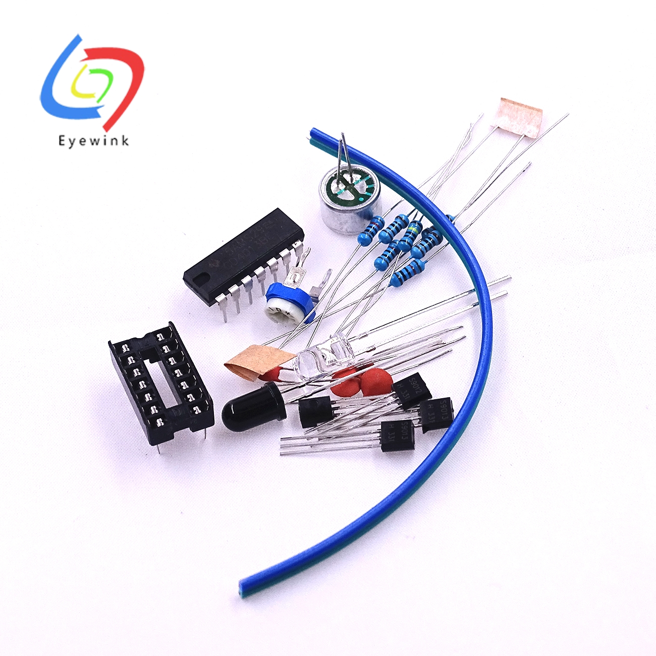 Buy Eyewink Analog Electronic Candle Module Diy Kit Circuit Simulation Lit Blow Control Suite For Training Parts From