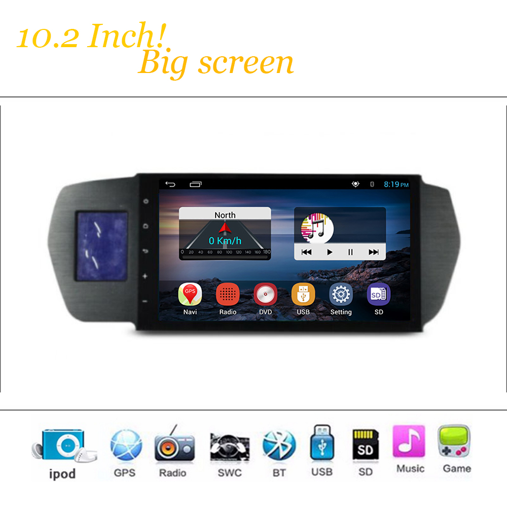 Sistema reproductor multimedia androide del coche para honda odyssey 2004-2008 a