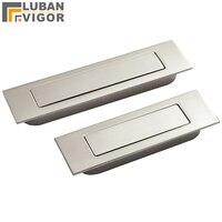 닦았 스테인레스 스틸 보이지 않는  숨겨진 스프링 서랍/슬라이딩 도어 핸들 자동 폐쇄 방진  하드웨어 door handle sliding door handlesliding door handle hardware -