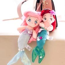 лучшая цена FGHGF Princess The Little Mermaid Ariel Plush Dolls 20CM Kids  Stuffed Toys For Children Girl Gifts High-quality