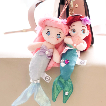 FGHGF Princess The Little Mermaid Ariel Plush Dolls 20CM Kids  Stuffed Toys For Children Girl Gifts High-quality