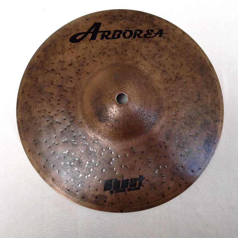Arborea Solid Ghost Series 10 Splash cymbal B20 metal handmade cymbal arborea ghost cymbal set on sale