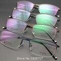 Vintage B Gafas De titanio marco hombres Gafas Gafas De Grau Gafas graduadas Gafas De miopía vidrio óptico Gafas