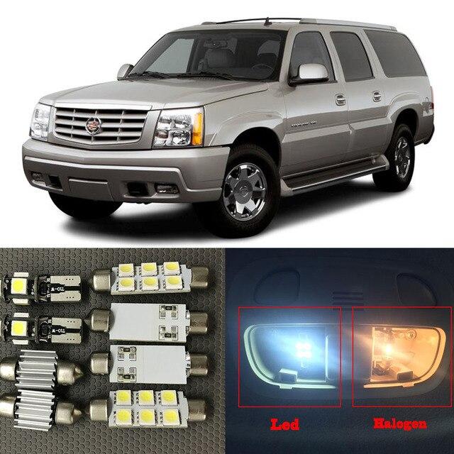 15 Unid auto interior LED blanco bombilla kit para 2002 2006 ...