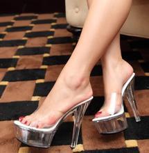 Waterproof Summer Heels Shoes